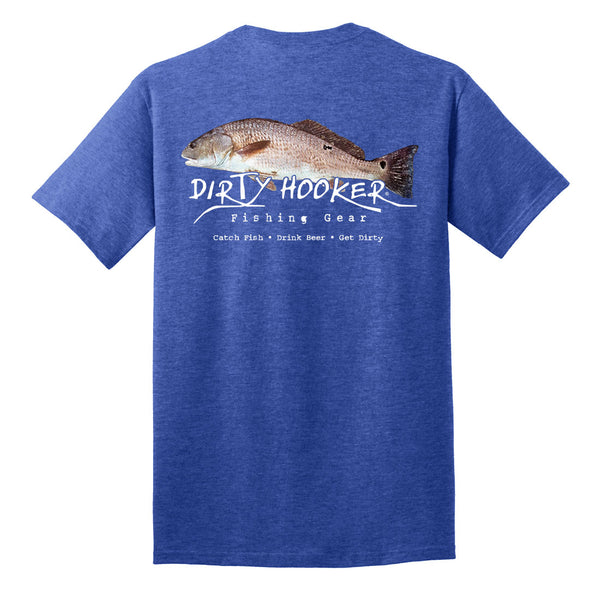 Dirty Hooker Name Tha' Redfish T-Shirt