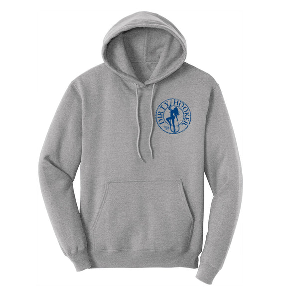 Dirty Hooker Classic Blue Pullover Hoodie