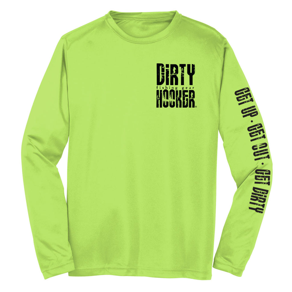 Dirty Hooker Florida Black Dry Fit