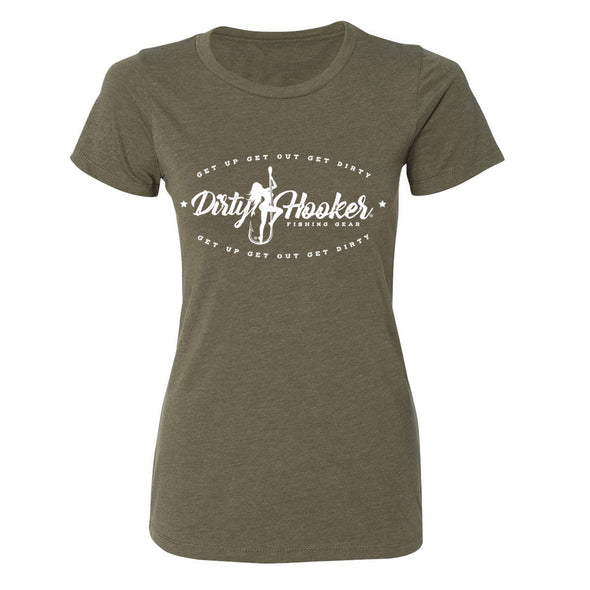 Dirty Hooker Vintage Ladies T-Shirt