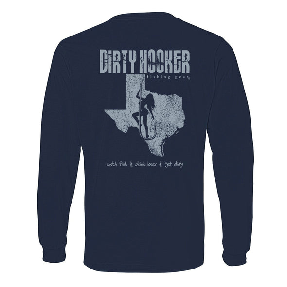 Dirty Hooker Texas Lightweight Long Sleeve T-Shirt