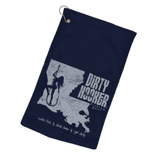 Dirty Hooker Louisiana Towel