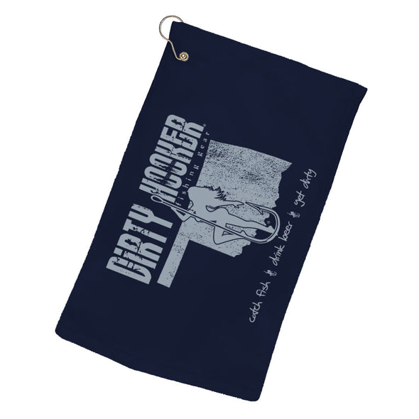 Dirty Hooker Oklahoma Towel