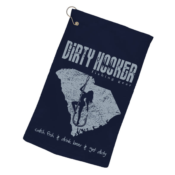 Dirty Hooker South Carolina Towel