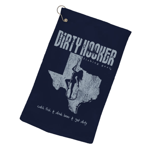 Dirty Hooker Texas Towel