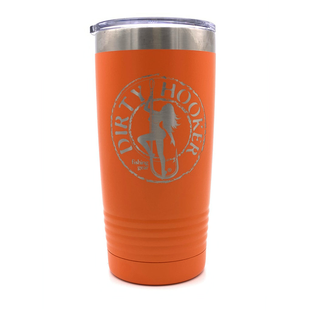 Dirty Hooker 20 oz Stainless Steel Tumbler