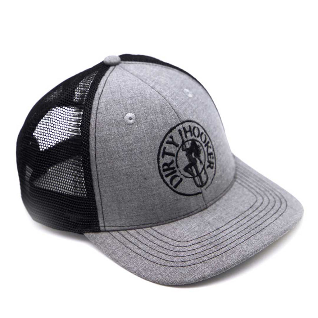 Dirty Hooker Deluxe Hat Black