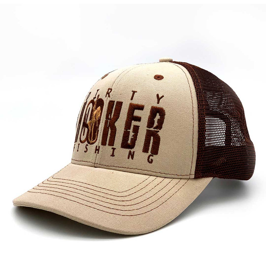 Dirty Hooker Deluxe Hat Brown & Khaki