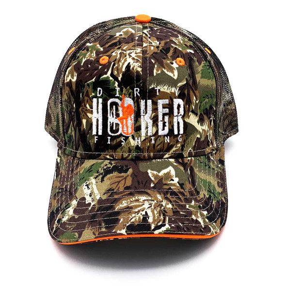 Dirty Hooker Premium Camouflage Trucker Hat