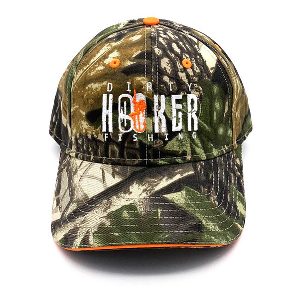 Dirty Hooker Premium Hat Camo