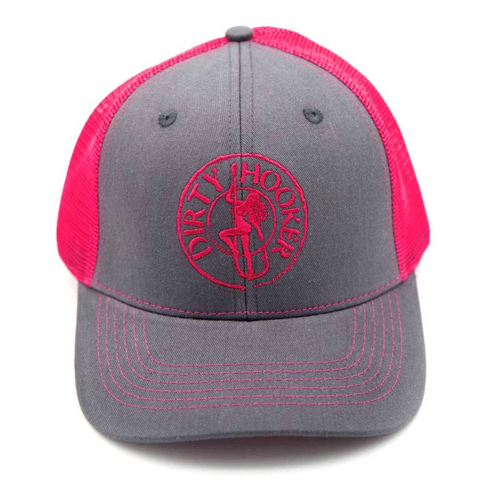 Dirty Hooker Deluxe Hat Pink