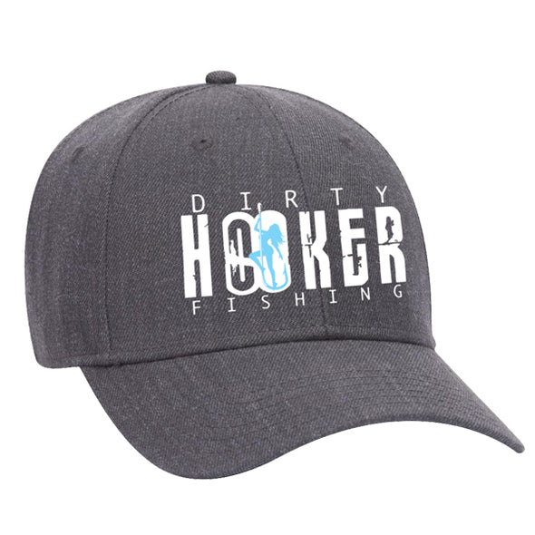 DH Premium Hat Dark Heather Grey