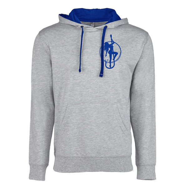 Dirty Hooker Stamp Blue Lightweight Hoodie