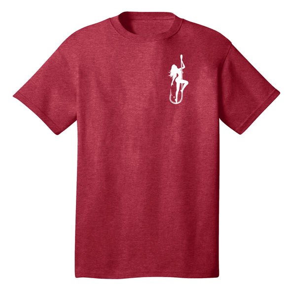 Dirty Hooker Classic White on Red T-Shirt