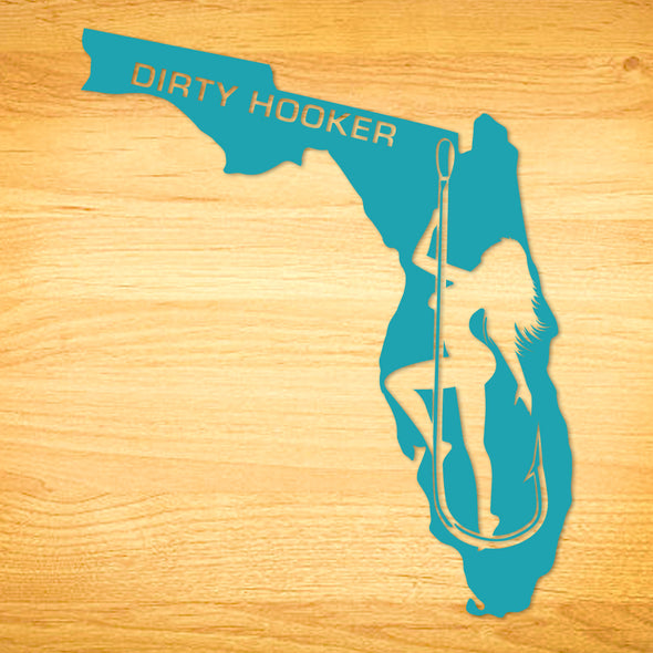 Dirty Hooker Florida Decal