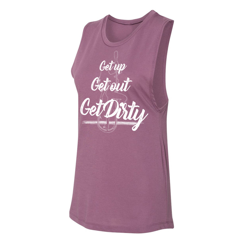Dirty Hooker Up Out Dirty Ladies Muscle Tank