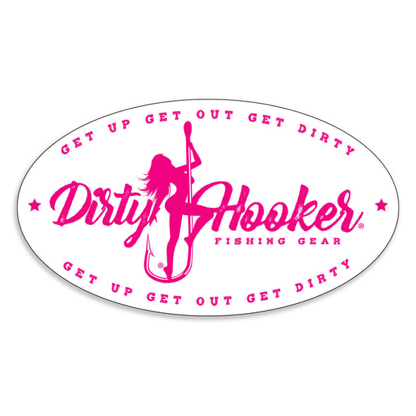 Dirty Hooker Vintage Sticker