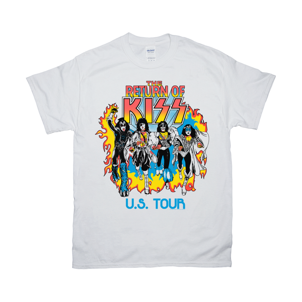 The Return of KISS White T-Shirt