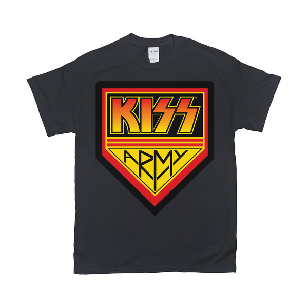 KISS Army Logo T-Shirt