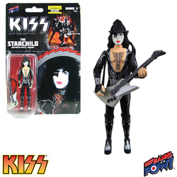 KISS Destroyer The Starchild with Firehouse Black Hat