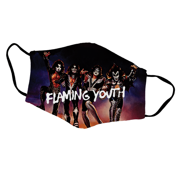 Flaming Youth Face Mask