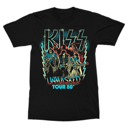 Unmasked Tour '80 T-Shirt