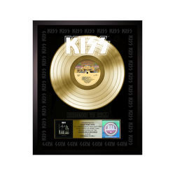 Personalized Dressed to Kill Gold Record Award