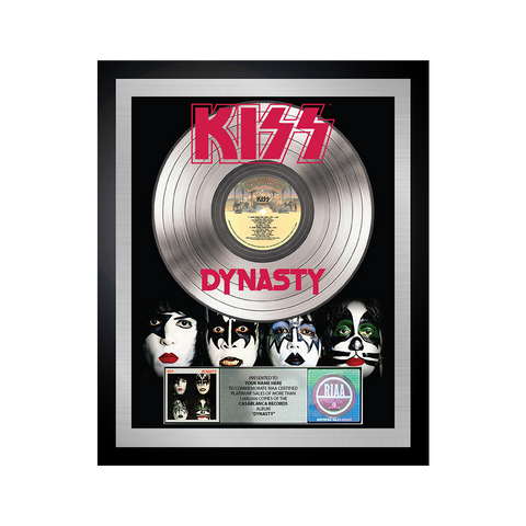 PERSONALIZED PLATINUM DYNASTY ALBUM