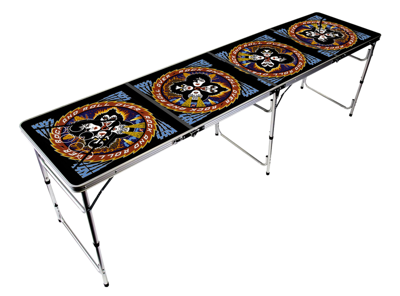Rock And Roll Over Beer Pong Table