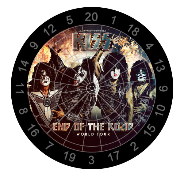 End of the Road Dartboard