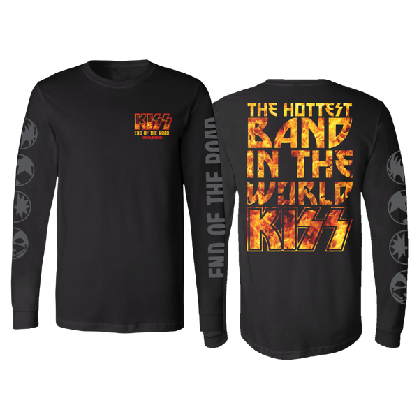 The Hottest Band In The World Long Sleeve