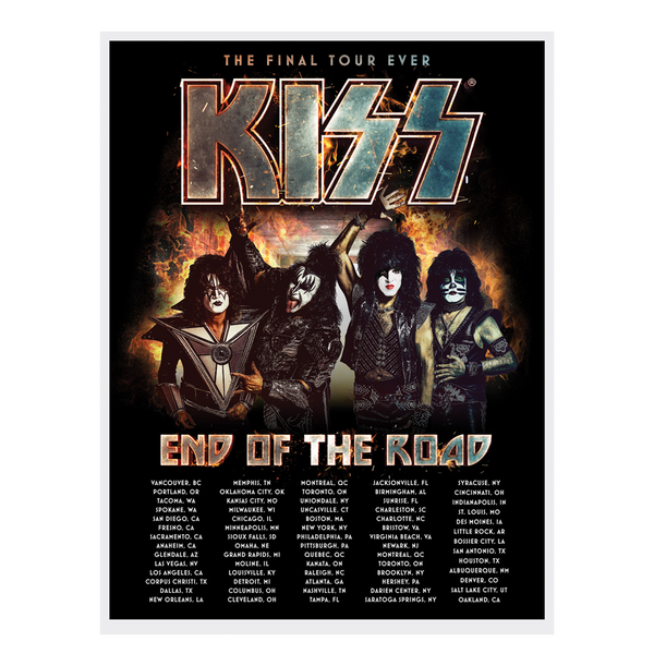 77913c674 Tour Collection | KISS End Of The Road Store