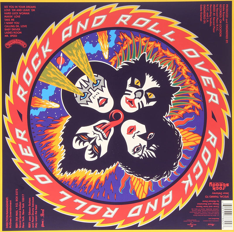Rock and Roll Over LP