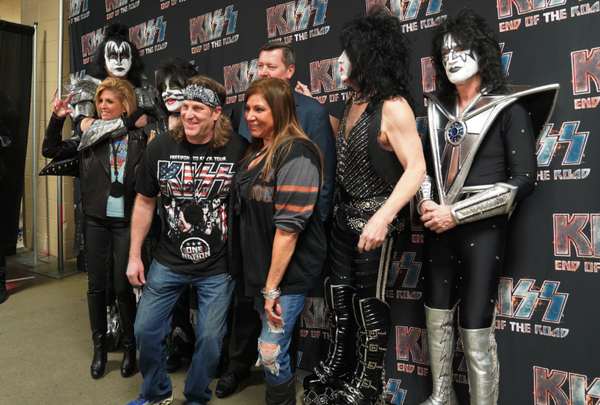 2021 KISS End of the Road Gold VIP Package