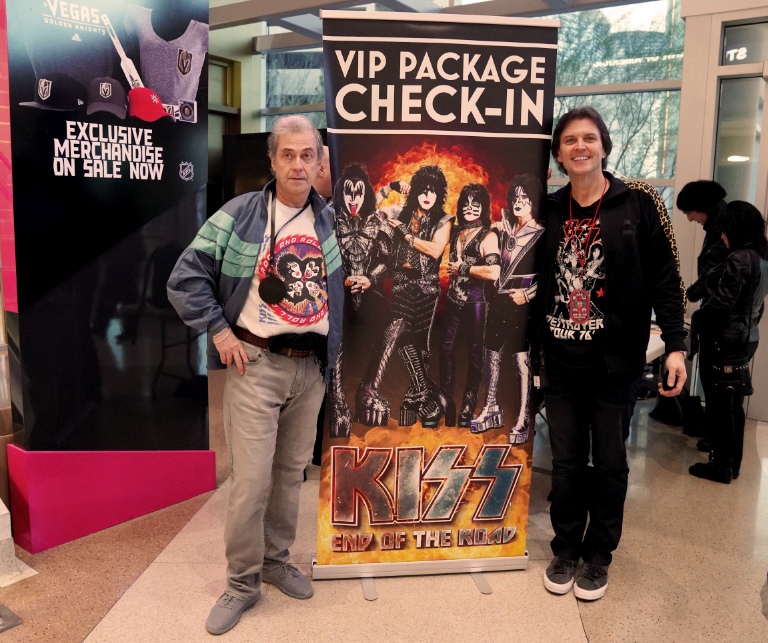 2021 KISS End of the Road Silver VIP Package