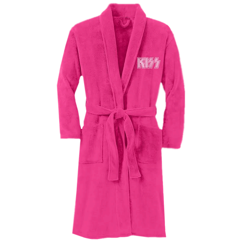 Bling Plush Robe