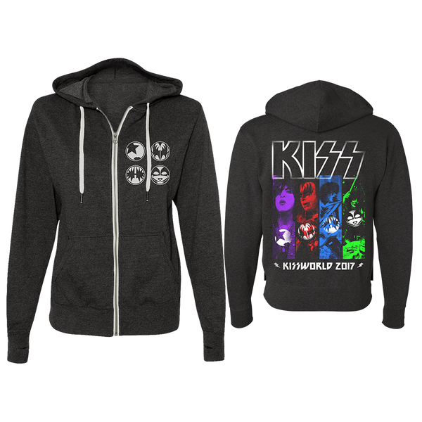 KISSWorld Zip Hoodie