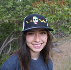 Branded Hat - Black - Salsa Queen
