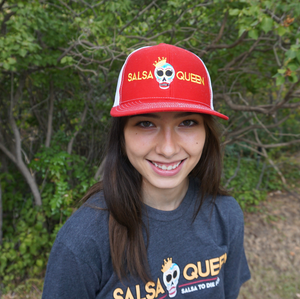 Branded Hat - Red - Salsa Queen