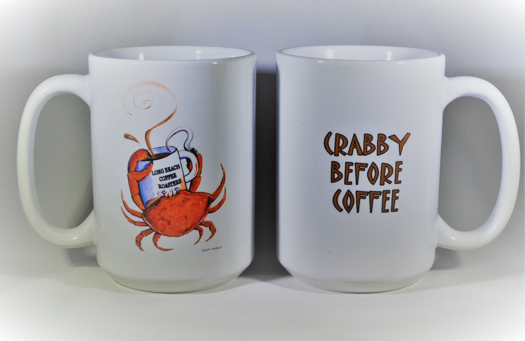 Crabby Before Coffee Mug