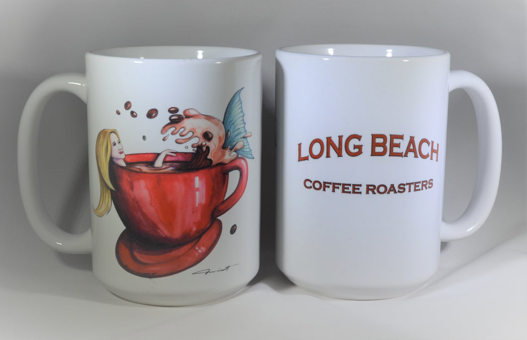 Long Beach Coffee Roasters Mermaid Mug
