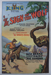 "1931 The Sign of the Wolf - Third Episode ""The Wolf Fangs"""