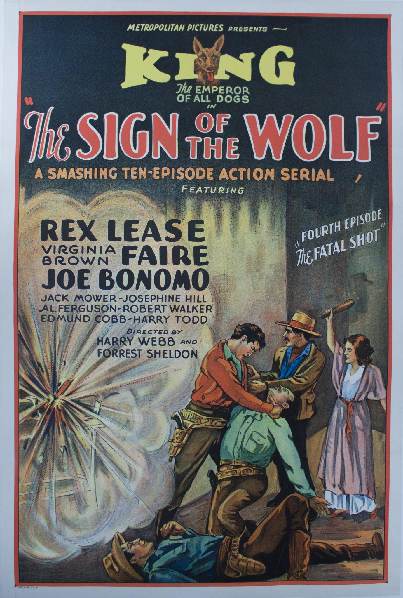 "1931 The Sign of the Wolf - Fourth Episode ""The Fatal Shot"""