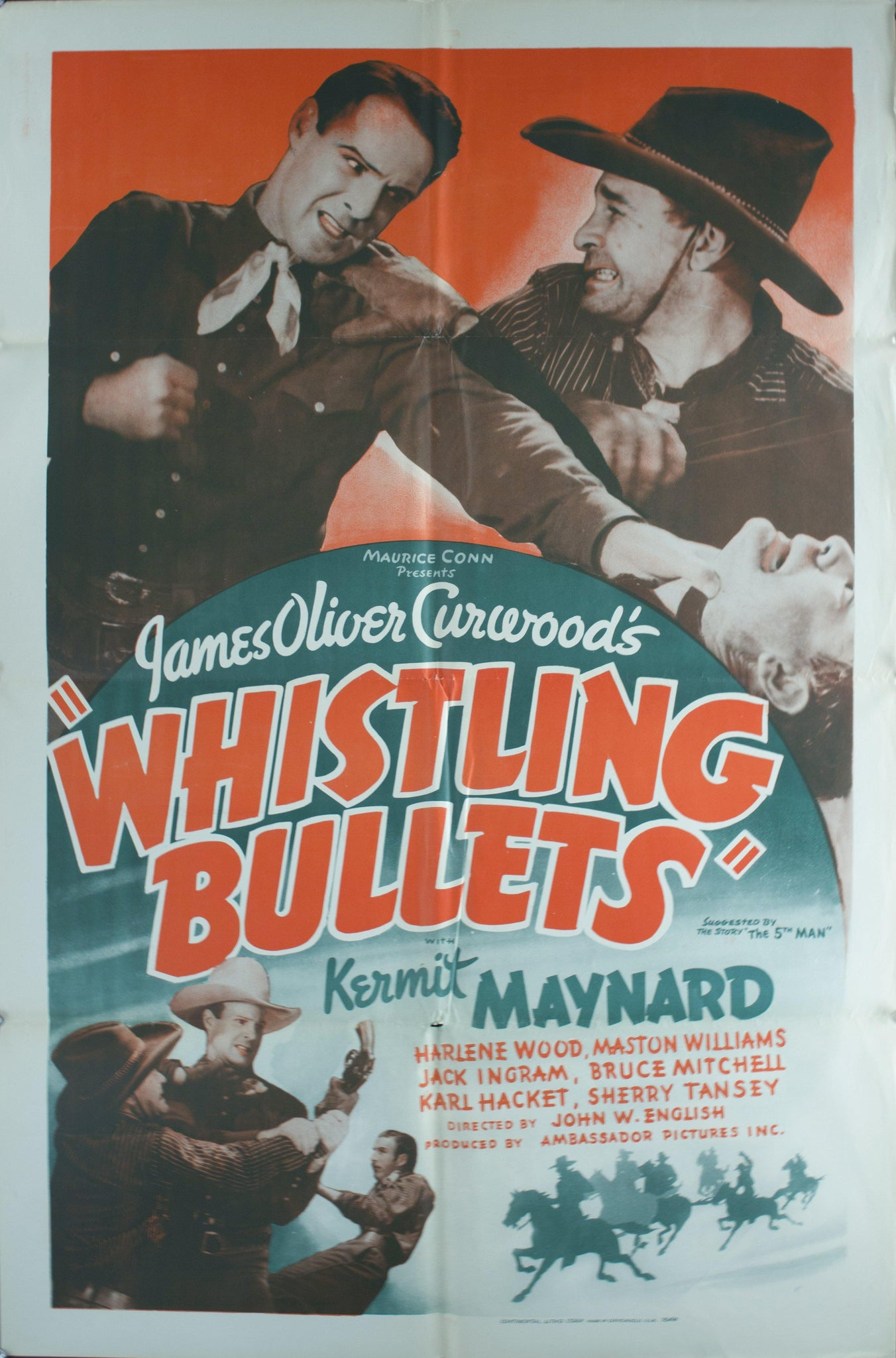 "1937 James Oliver Curwood's ""Whistling Bullets"""