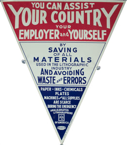 c. 1942 You Can Assist Your Country, Your Employer, and Yourself - Golden Age Posters