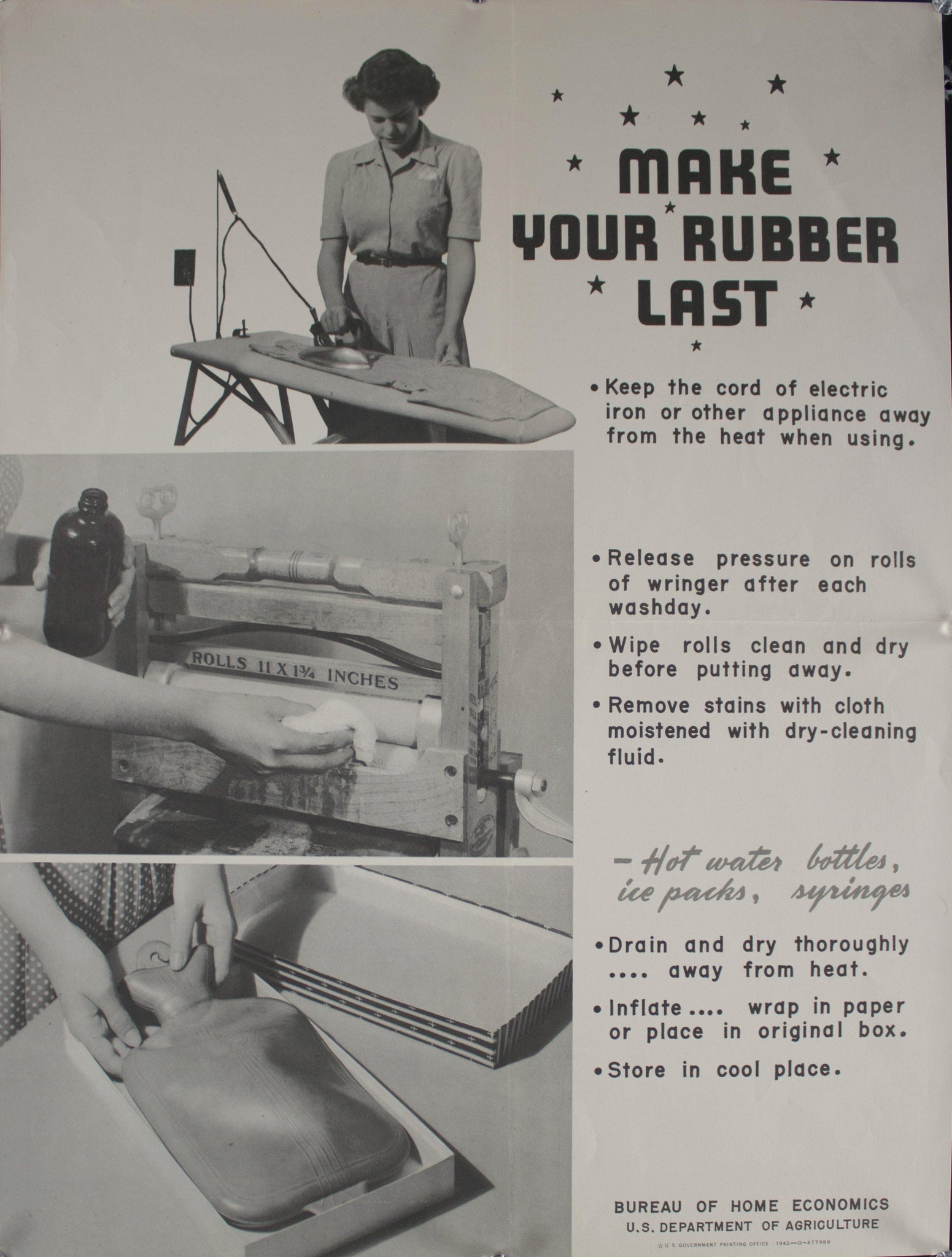 1942 Make Your Rubber Last