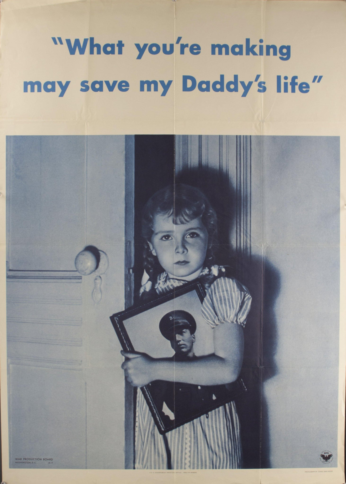 1942 What You're Making May Save My Daddy's Life