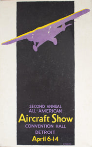 1929 Detroit | Second Annual All-American Aircraft Show