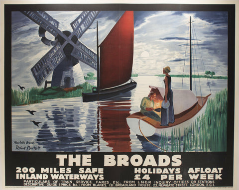 The Broads | 200 Miles Safe Inland Waterways