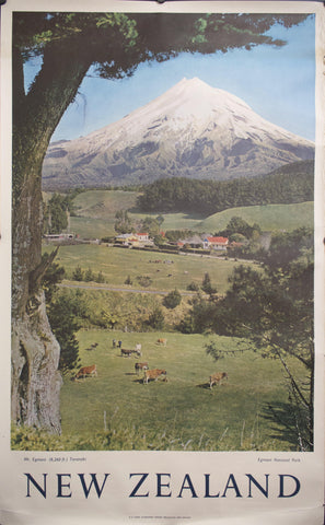 c. 1959 New Zealand | Mt. Egmont (8,260 ft) Taranaki